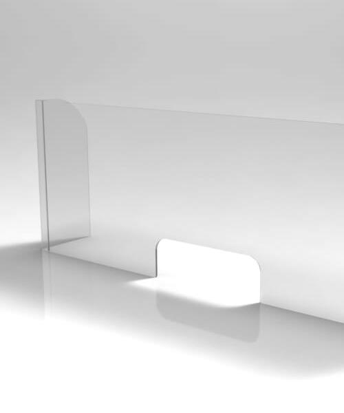 lavorazione barriera plexiglass covid 19