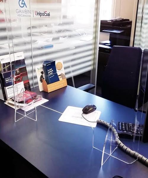 plexyglass ufficio